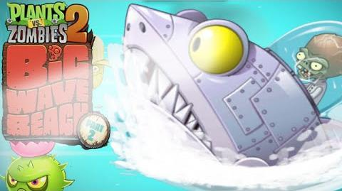 Plants Vs Zombies 2 Final ZomBoss Zombot Sharktronic Sub, Big Wave Beach Part 2 - Day 32