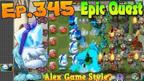 Plants vs. Zombies 2 COLD SNAPDRAGON - Epic Quest Premium Seeds (Ep