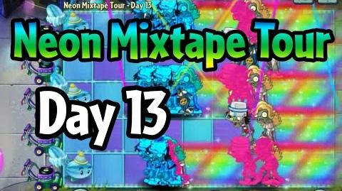 Plants vs Zombies 2 - Neon Mixtape Tour Day 13 (Beta) Last Stand