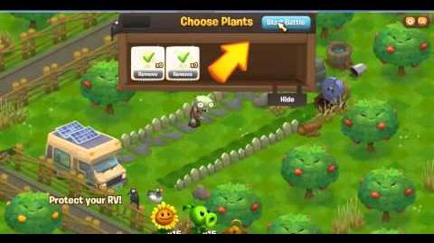 Plants vs Zombies Adventures Facebook game Part 1
