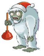 Santa Yeti Zombie