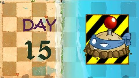 Android Plants vs. Zombies 2 - Big Wave Beach Day 15