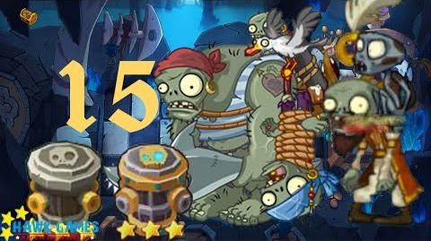 PvZ Online - Adventure Mode - Treasure Cave 15