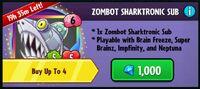 Zombot Sharktronic Sub Pack