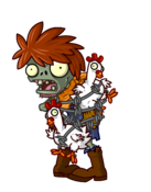 Chicken Wrangler Zombie HD