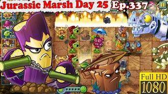 Plants vs. Zombies 2 (China) - Zombot Dinotronic Mechasaur - Jurassic Marsh Day 25 (Ep.337)
