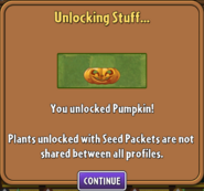 Pumpkin Unlocked