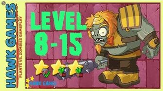 V1.0.81 Plants vs. Zombies All Stars - Journey To The West Level 8-15 BOSS Yellow Brows Garg