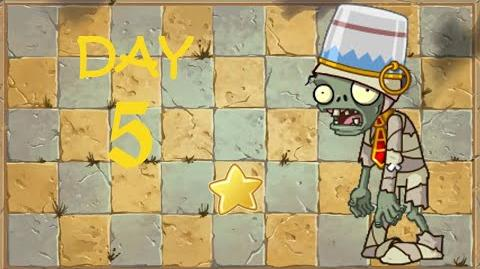 Android Plants vs. Zombies 2 Chinese - Ancient Egypt Day 5