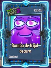 Bomba de Frijol Oscuro Paquete