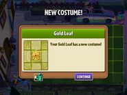 Getting Gold Leaf's Second Costume