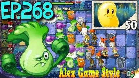Plants vs. Zombies 2 Got a new Plant Sun Bean - Dark Ages Night 6 (Ep