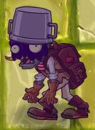 Poisoned Buckethead Adventure Zombie