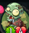 Close-Up of Smelly Zombie