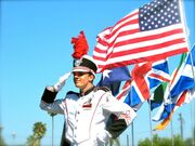 Drum-Major-Flags