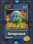 Springenweed Sticker
