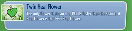 TwinHealFlower