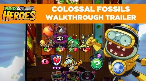 Colossal Fossils Gameplay Walkthrough Trailer Plants vs