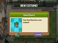 Getting Chard Guard Costume
