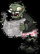 Newspaper Zombie