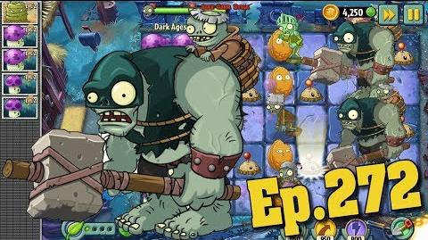 Plants vs. Zombies 2 New Dark Ages Gargantuar - Dark Ages Night 10 (Ep