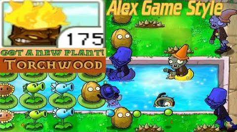 Plants vs. Zombies Adventure Got a Torchwood level 3-7 Pool (Android Gameplay HD) Ep
