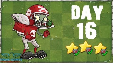 Plants vs Zombies 2 China - Modern Day Day 16 All-Star Zombie 《植物大战僵尸2》- 摩登世界 16天