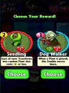 Choice between Seedling and Dog Walker
