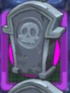 Dark Tombstones Power Tile