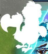 Dodo Rider Zombie silhouette