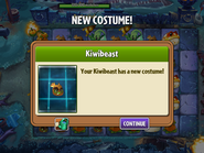 Getting Kiwi Beast First Costume