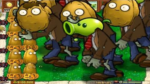 Plants vs Zombies Giant Zombie Edition - Minigame Giant ZomBotany Episode 2
