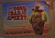 The Good The Bad and the Spikey Poster