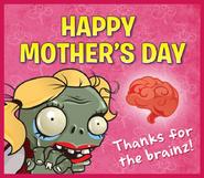 Mom greetings card