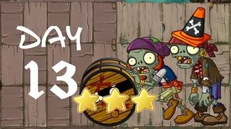 Android Plants vs. Zombies All Stars - Pirate Seas Day 13