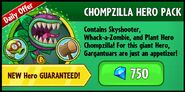 Chompzilla Hero Pack