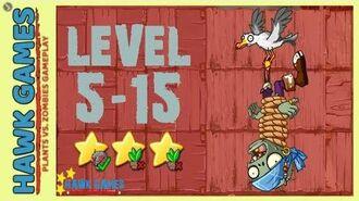 V1.0.81 Plants vs. Zombies All Stars - Pirate Seas Level 5-15 BOSS Seagull Zombie