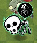 Zapped Big Brainz Balloon Zombie