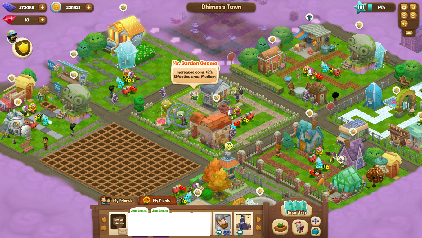 Plants vs. Zombies adventures game review.