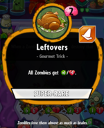 Leftovers stats