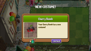 New Costume for Cherry Bomb