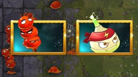 Plants vs Zombies 2 - Candied Fruit and Alarm Arrowhead - New Plants - Chinese