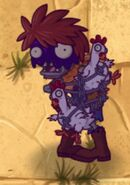 Poisoned Chicken Wrangler Zombie
