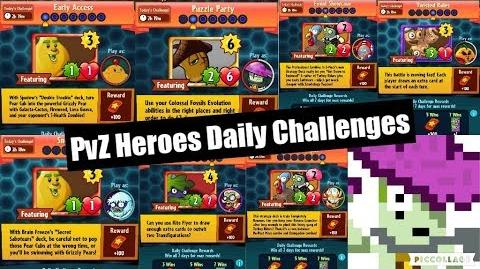 PvZH Daily Challenges (21 - 27 November)