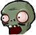 Zombie football head