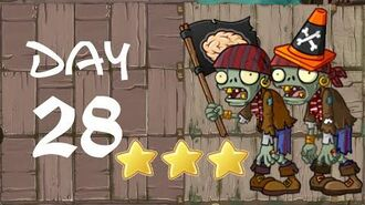 Android Plants vs. Zombies All Stars - Pirate Seas Day 28
