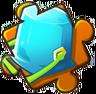 Blue Bucket Puzzle Piece Level 4