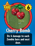 Receiving Cherry Bomb