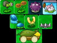 The Eight Upgrade Plants