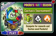 Cactus tournament ad